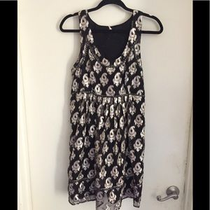 Free People Black Cocktail Dress